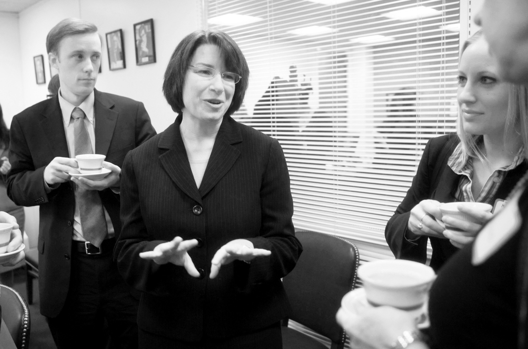 U.S. Senator Amy Klobuchar recently discussed, on her visit to Gustavus, her belief that global warming is a