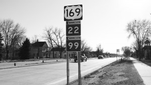 Highway 169 was opened Monday, Nov. 16 after a five month, $16 million construction project. Sarah Cartwright.