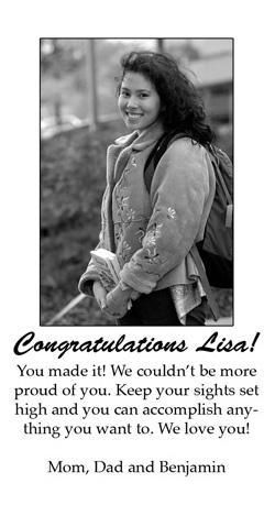 Congratulation Notices | The Gustavian Weekly