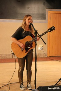 The CAB Coffee House featured female singer Shevy Smith in the Courtyard Café Wednesday evening. Submitted