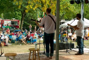 Bands played on two different stages over the course of the two-day festival in Minnesota Square Park. Mara Johnson-Groh