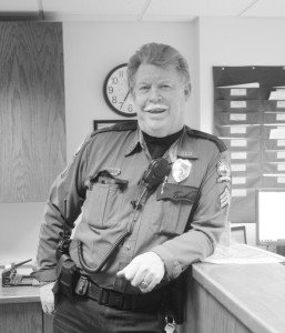 Campus Safety Seargent Mike English will be missed after his 14 years at Gustavus. Allison Hosman