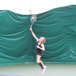 Women's Tennis - Laurel Krebsbach and the rest of the women's tennis team have one more weekend of matches before the playoffs begin. The team will play University of St. Thomas
