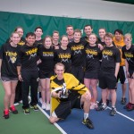 "The Gustavus Club Tennis team received Club of the Year honors from the organization Tennis On Campus, the main organizer of club tennis events in the midwest. ""Our program is an incredible place for students to play tennis and enjoy the community feel of students playing a sport they are passionate about, while encouraging each other to improve,"" Junior Hannah Jakel told TOC."