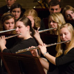 Gustavus Wind Orchestra was the smallest of only seven colleges chosen to perform at next summer's Collegiate Band Director's National Association's regional conference.