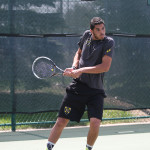 Last year, Mohaned Al-Houni got to the finals of the ITA Regional Championship where he was defeated by his brother. This year, Al-Houni defeated teammate Zach Ekstein in the semifinals and went on to win the tournament.