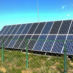 Solar panels are a form of clean energy and help redue our carbon footprint.