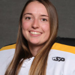 Besides hockey, Hibbard is part of the Army ROTC program. Upon graduation, the 5'6'' goalie from Princeton, Minn. will be able to service as an officer of the US Army.