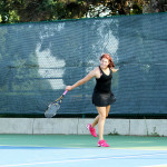 Katey Aney competed in both singles and doubles during the 2015 ITA Regional tournament. Together with her partner Sidney Dirks, she reached the quarterfinals of the doubles tournament.