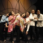 The acapella ensemble Voz en Punto has traveled around the world performing their unique arrangements of Mexican folk songs and vocal jazz.