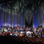 Talented Gustavus singers, musicians, and dancers come together to present a message of peace this year for Christmas in Christ Chapel.