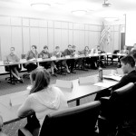 Student Senate gathers for a Monday night meeting discussing the issues' on campus and what can be done.