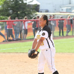 Junior Pitcher Hannah Heacox is coming off an All-Conference season and will be key in the Gusties repeating as MIAC Playoff Champions.