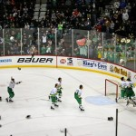 The Edina Hornets celebrate their 2014 state championship in front of a sold out crowd at the Xcel Energy center. This year, the Wayzata Trojans defeated the Eden Prairie Eagles to take home the trophy for class 2A, and Hermantown defeated Breck to win the 1A hardware.