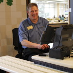 As Marketplace Supervisor, Ted is always happy to jump in wherever help is needed in the caf.