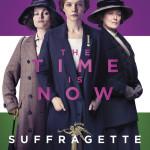 Suffragette stars Helena Bonham Carter, Carey Mulligan, and Meryl Streep.