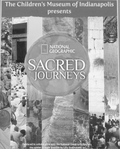 Sacred Journeys, a children's religion exhibit in Indianapolis at the Children's Museum.