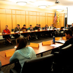 Student Senate meets Mondays to stay up-to-date on issues.