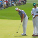 Jordan Spieth at last years Masters. Unfortunately his quest for back to back green jackets was stopped short this year after a rough twelfth hole on Masters Sunday. It sure was interesting to watch though.