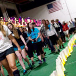 Join Gustavus students, staff, faculty and community Friday April 15, 2016 at 6 p.m. to fight against cancer.