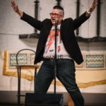 Lea Delaria performed two songs as part of her talk in the Chapel on May 10th.
