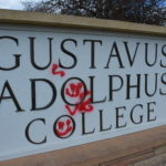 Several weeks ago, the Gustavus community woke up find to graffiti across the campus. No one has come forward to claim responsibility.