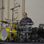 On Tuesday, April 26, the Diversity Center hosted a performance by award-winning drummer and Minnesota native Jason Gerling. He played drums before a car accident left him paralyzed, but unwilling to give up his passion, he invented a modified drum kit that allowed him to continue to play drums.