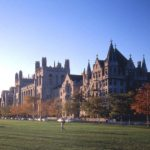 """University of Chicago is a beautiful campus with plenty of room for a """"safe"""" space."""