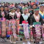 Traditional Hmong dress and culture.