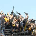 A packed stadium brought great energy as the Gusties faced MIAC foe Concordia-Moorhead for Homecoming on Saturday. The Gusties were down 21-26 with 1:50 left in the third quarter, but a big fourth quarter from the Cobbers made all the difference as they scored three unanswered touchdowns, defeating the Gusties 46-21.