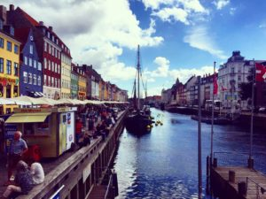 The city of Copenhagen offers some breathtaking sites to taste a mouthful of pastry or a cup of coffee in.