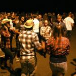 The annual Orientation square dance.