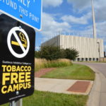 "New ""No-Smoking"" signs can now be found around campus."