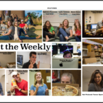 Pictures of the 2018 - 19 Weekly Editors