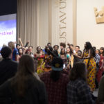 The International Festival shows diversity on Gustavus' campus each year.
