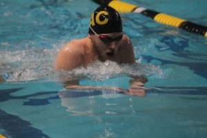 Gusties competed at home this weekend at a Gustavus Invitational Meet.