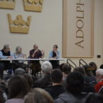 Four panelists from different departments volunteered for the event based on their interest in the topic.