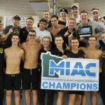 The Men's Swimming and Diving team took home the MIAC Championship this past weekend, finishing with 938.5 points.
