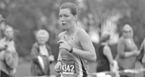 Senior Tierney Winter led the Gusties with a 12th place finish.