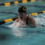 The Men's and Women's Swimming and Diving teams have had a solid start to their seasons, defeating St. Olaf by scores of 200-90 and 164-136, respectively.