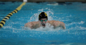 Junior Nolan Larson kicked off the season with back to back MIAC Athlete of the Week Honors.