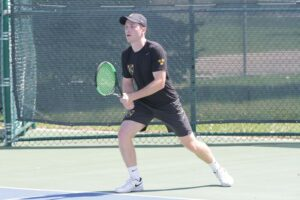 Senior Michael O'Neil earned All-America honors this fall in doubles.