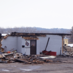 KingPins bowling alley, once local popular hangout spot, destroyed after a structure fire on Sunday morning February 16.