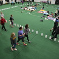 Gusties gathered in Lund Arena from 6:00 p.m. to 1:00 a.m. to raise money for cancer research.
