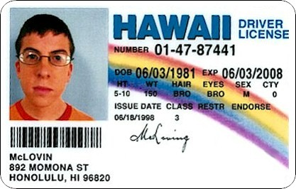 And really, do you want to live in a country where McLovin can't legally vote? The Creative Commons.