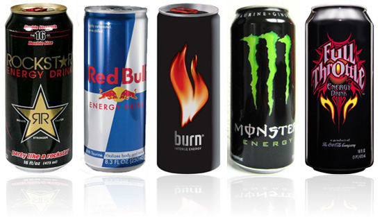While chugging an energy drink to get you through that last final may be tempting, resist the urge and your body will thank you. <em>Creative Commons</em>
