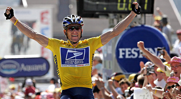 Seven-time Tour de France winner Lance Armstrong has been stripped of his cycling titles after admitting to doping throughout his career. <em>Creative Commons</em>