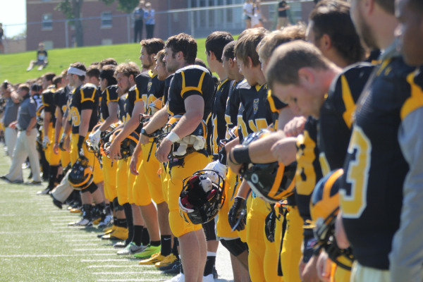The football team is having one of their greatest starts to a season ever. They hope to increase their winning streak to five straight games when they host Carleton College in the 2014 Homecoming game.