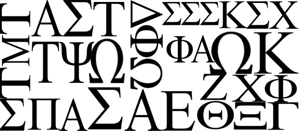 Gustavus Local and National Greek Letters