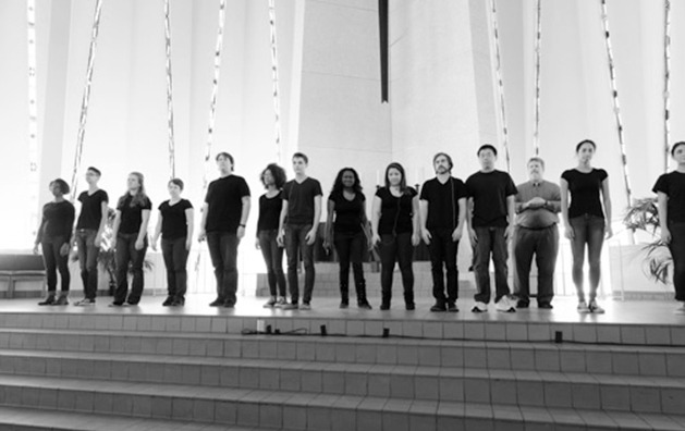 'I am, We are' after performing at the 2014 Building Bridges Conference. Gustavus Marketing and Communications